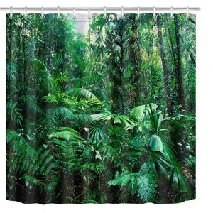 Other - Forest Woods Tropical Shower Curtain